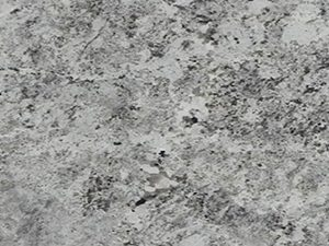 Close up of Alaska White granite slab
