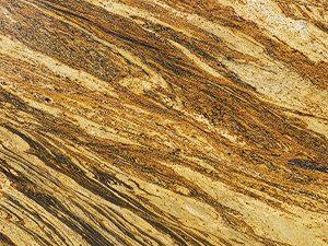 Close-up of Aragon granite slab