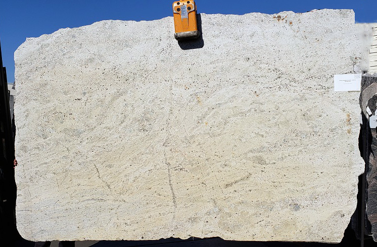 Bianco Romano full granite slab