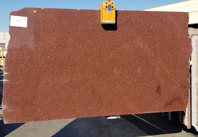 Carnelion Red full granite slab