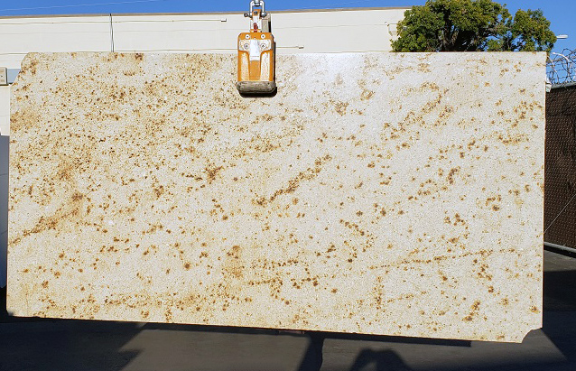 Colonial Cream full granite slab