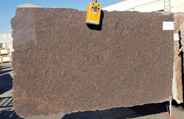 Dakota Mahogany full granite slab