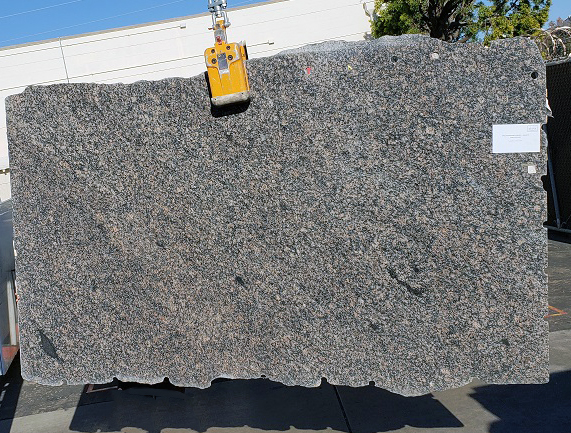 English Brown full granite slab