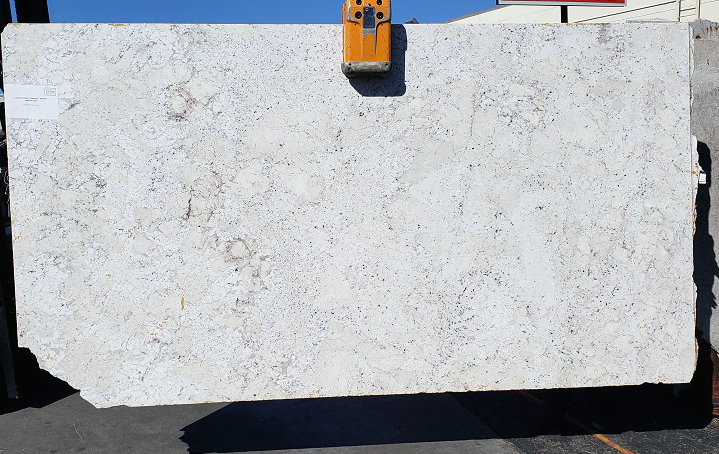 Fantastic White full granite slab