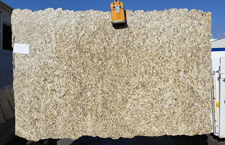 Giallo Reale full granite slab