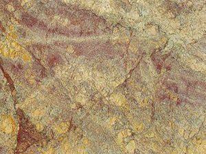 Golden Bordeaux granite slab