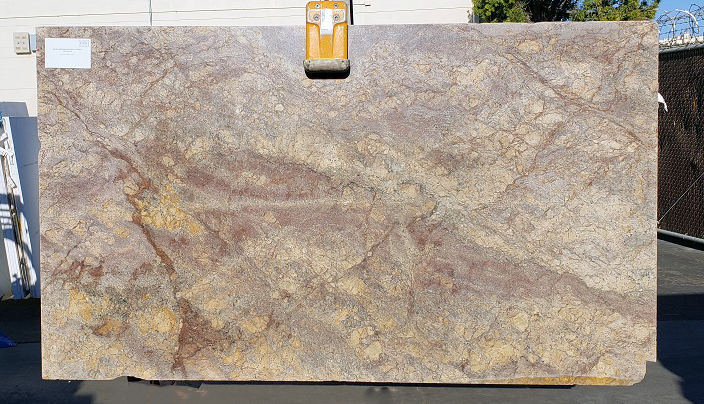 Golden Bordeaux full granite slab