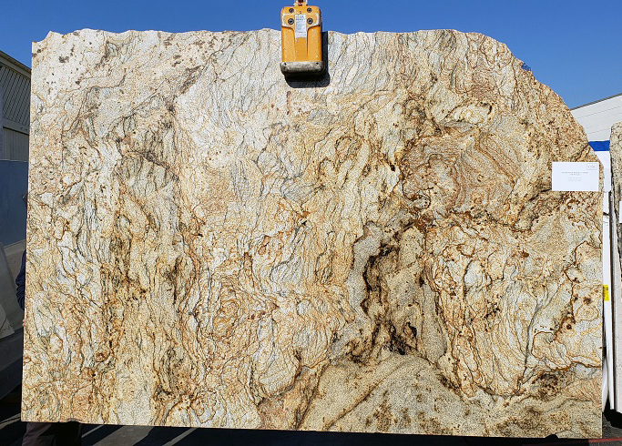 Golden Crystal full granite slab