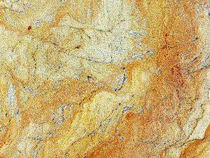 Golden Wave granite slab