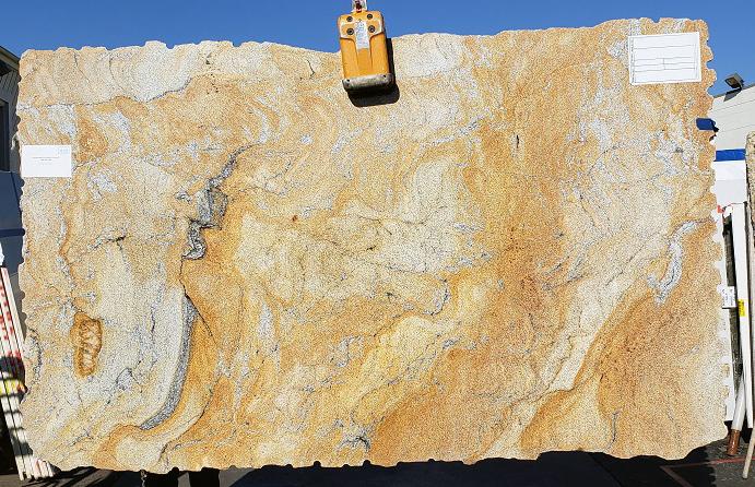 Golden Wave full granite slab