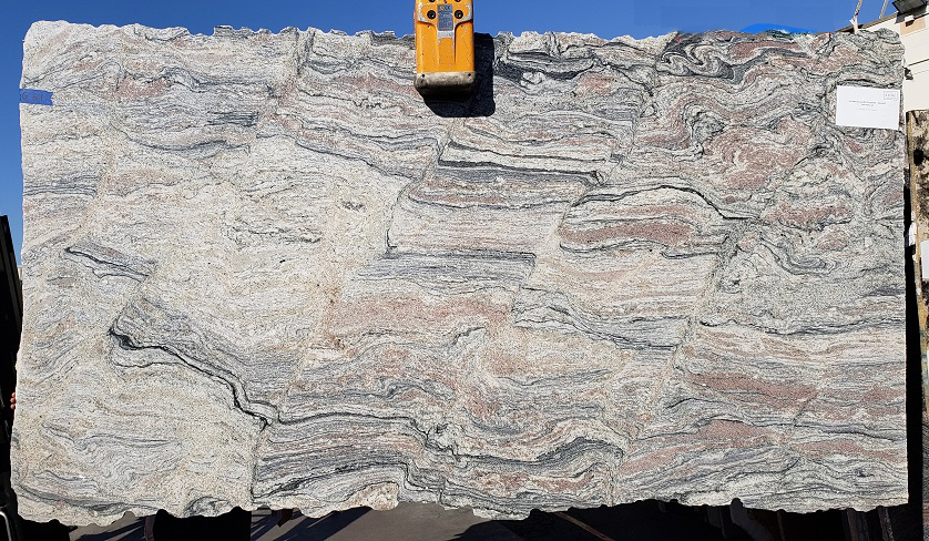 Juparana Glory full granite slab