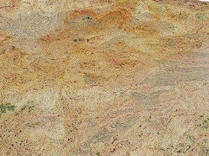 uparana Multicolor Dorado granite slab
