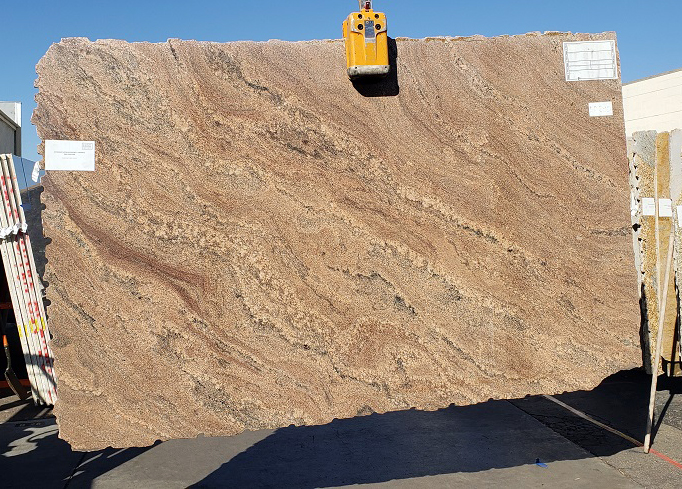Juparana Natalia full granite slab