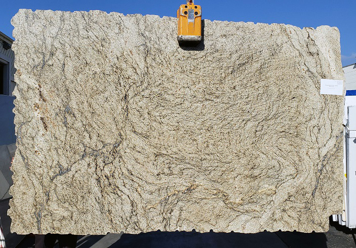 Juparana Sand full granite slab