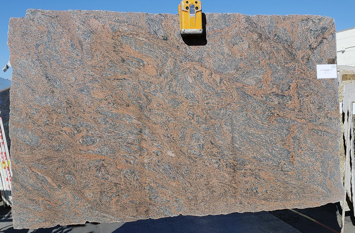 Multi-Color Red full granite slab