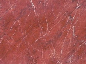 Rosso Tolomeo marble slabs