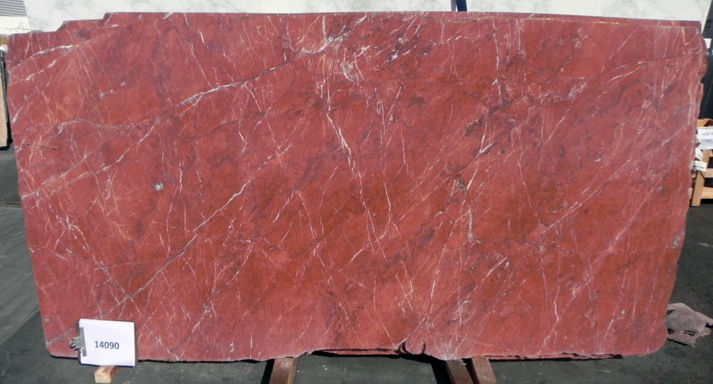 Rosso Tolomeo full marble slab