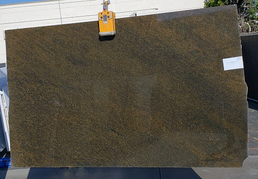 Seaweed Green full granite slab
