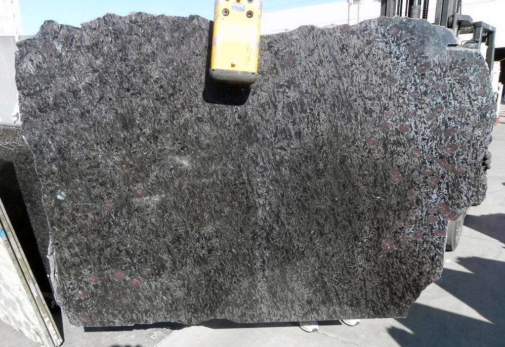 Silhouette Black full granite slabs
