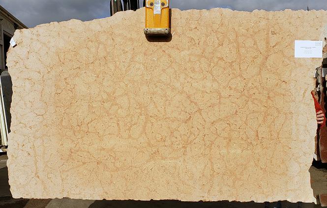 Summer Peach full marble slab