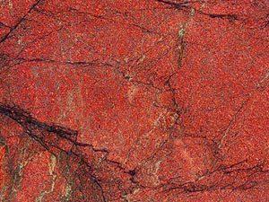 Sunset Red granite slab