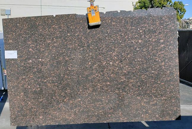 Tan Brown full granite slab