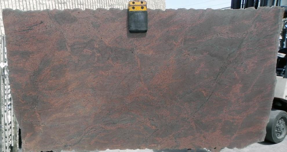 Tobacco full granite slab